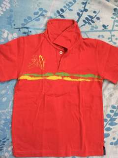 Polo shirt for 7-8yo
