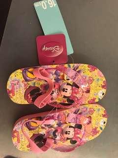 Disney 兒童 拖鞋 涼鞋