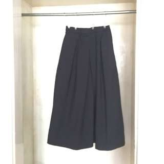 GU Japan (Tag removed) | Black Culottes
