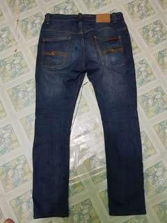 Nudie tape ted dey dirt sz 34/32
