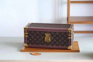 LV Monogram Jewelry Trunk Case