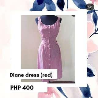 DIANE DRESS (red)