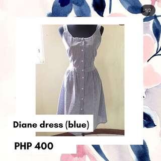 DIANE DRESS (blue)