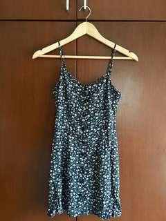 H&M Button-down dress Floral