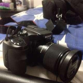 Sony 100a DSLR camera (reduced price)