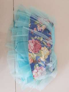 Girl pants style skirt