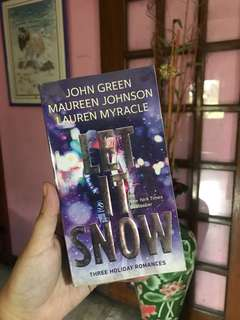 Let It Snow | by John Green, Maureen Johnson, and Lauren Myracle