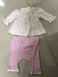 Two-piece Baby Girl Clothes