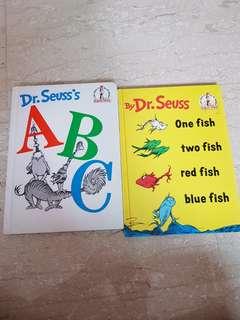 Dr Seuss hardcover story books for beginners