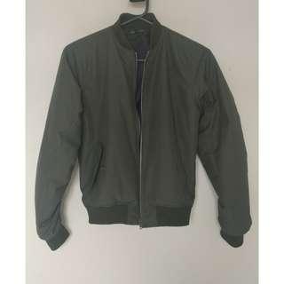 Jacket Bomber Green Army