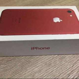 Iphone 7 128gb Red edition (repriced)