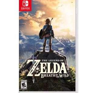 [BNIB] Nintendo Switch Breath of the Wild