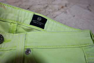 Colored Pants (Yellow Green)