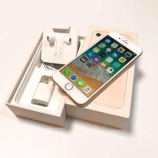 三豬3C second hand IPHONE 8 (4.7) 256G  Gold