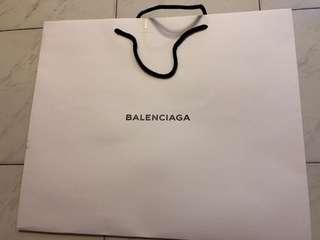 BALENGlAGA正品紙袋中號