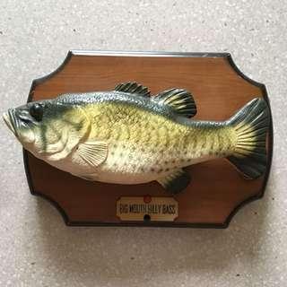 Singing fish oddity