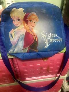 Frozen sling bag