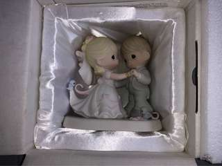 Brand New Precious Moments Wedding Couple Figurine