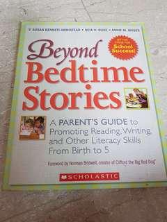 Scholastic book : beyond bedtime stories