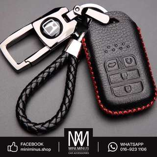 Honda Leather Key Pouch