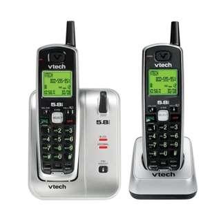 Vtech 5.8GHz 超高清數碼無線子母電話 [CS5111-2] (有保用)