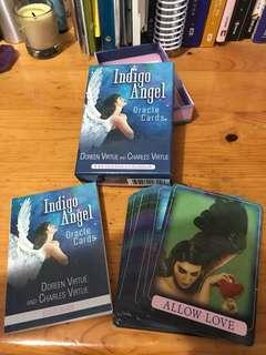 Indigo Angel Oracle cards