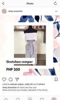 GRETCHEN ROMPER B