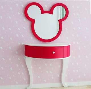 Home81 micky mouse mirrior 廁所鏡 化妝鏡包送貨