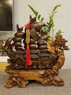 仿木帆船 - Wooden Sailboat