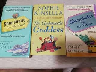 Sophie Kinsella 3 Books