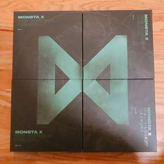 ONHAND UNSEALED ALBUM MONSTA X - The Connect: Dejavu Repackage