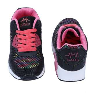 BNWT Korean Style Women Outdoor Breathable Portable Black Running Shoe (Size 38) Selling $28!