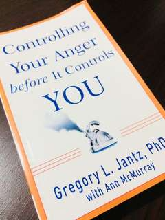 Controlling Your Anger before It Controls YOU by Ann McMurray and Gregory L. Jantz