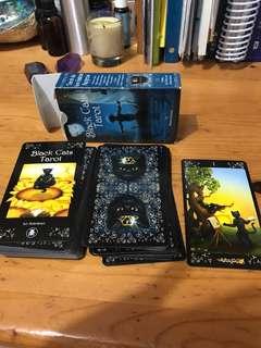 Black Cat Tarot Card