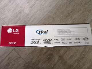 LG HD 3D Blu Ray Player(BP450)