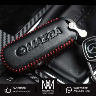 Mazda Leather Key Pouch