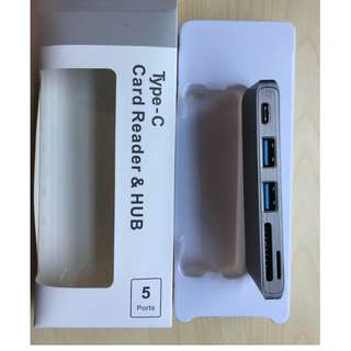 5-in-1 USB Type-C Hub Macbook Laptops