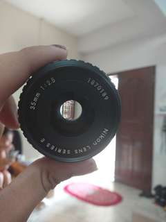 Vintage Nikon prime 35mm f2.5