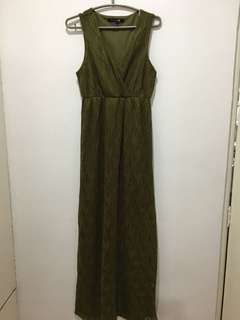 Forever21 Olive Green Maxi Dress