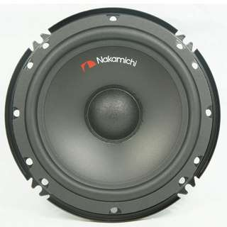 "Nakamichi 6"" 2 Way Compunent System Car Speaker Model NSC 165C"