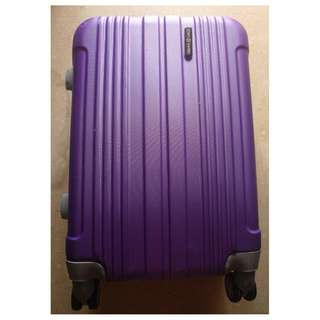 Visible cracks-Samsonite Suitcase luggage cabin luggage travel luggage Used