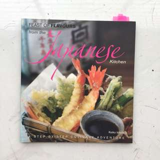 Japanese recipe book