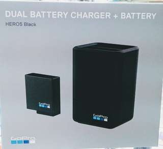 Gopro Dual Battery Charger for Gopro Hero 6 or 5