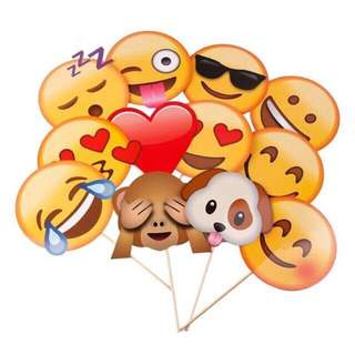 Emoji Props and Photobooth Party Supply
