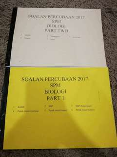 SPM trial papers 2017 (11states of Malaysia)