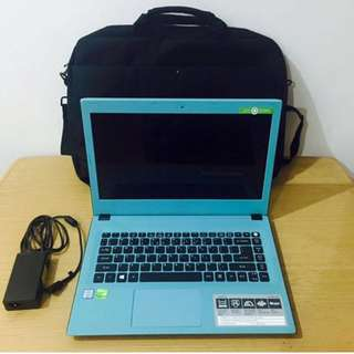 ACER Aspire E14 Laptop i5 6TH GEN 8gb RAM 1 Terabyte HDD  gaming laptop.