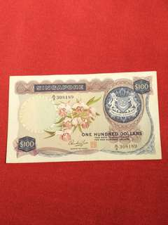 A/3 308189 old sg $100 old notes