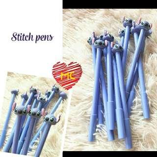 Stitch character pens