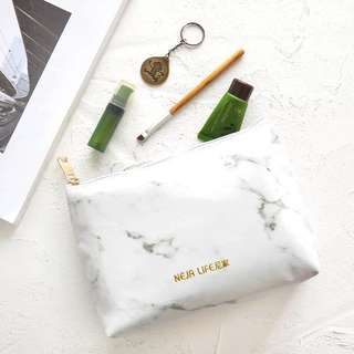 🚚 大理石化妝包文具袋#畢業兩百元出清