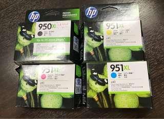 HP [Original] HP 950XL Black 951XL Cyan Magenta Yellow Officejet Ink Cartridge